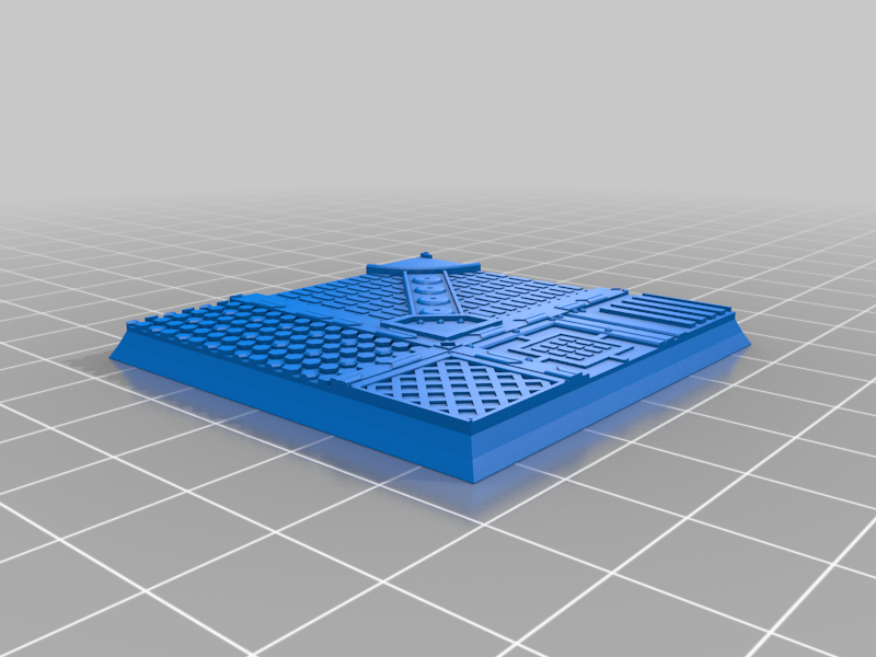 Square_50mm_base_INDR_01.png Download free STL file Sci-fi industrial bases all sizes all shapes • 3D printing template, Alario