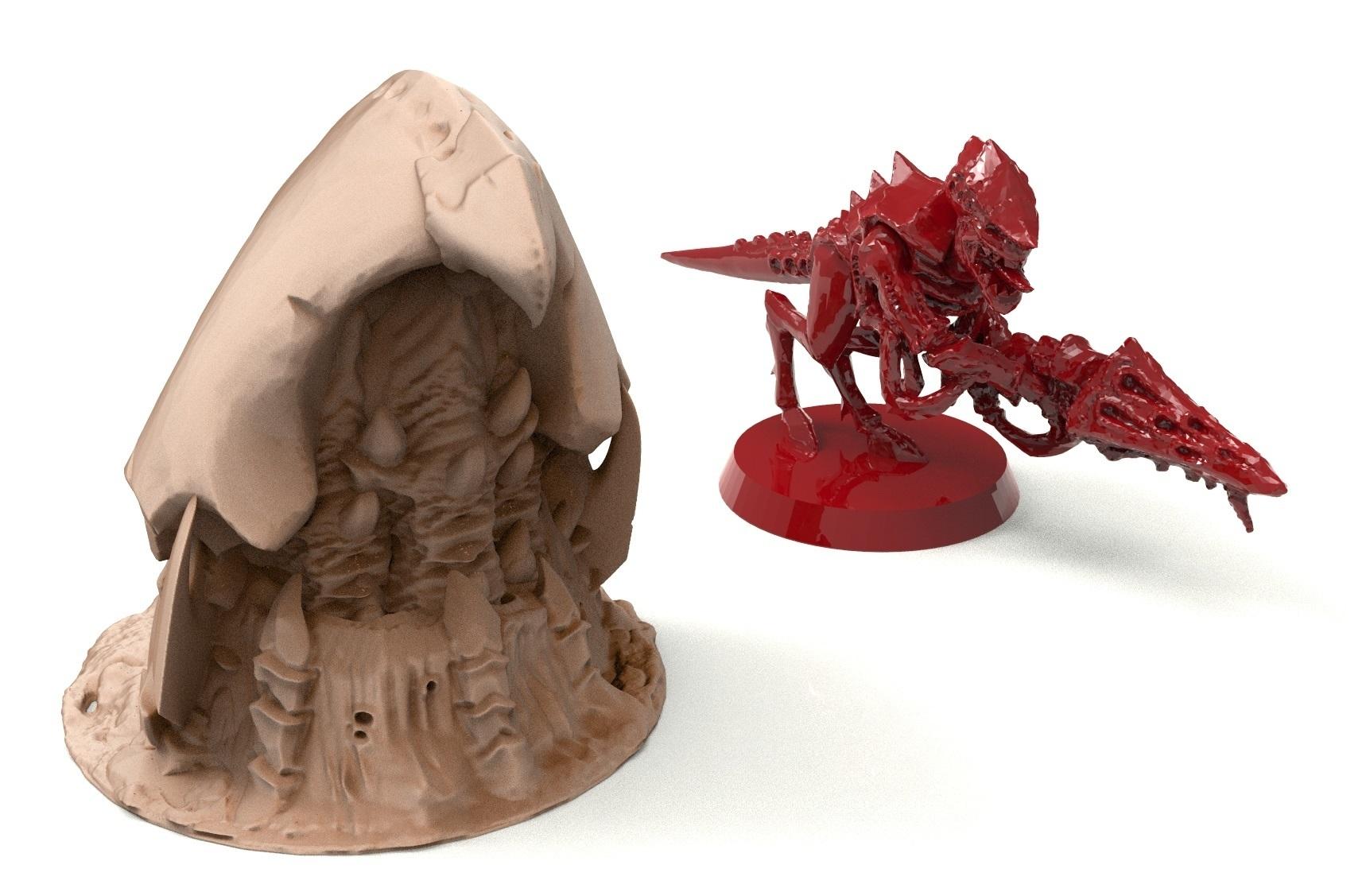 4A.jpg Télécharger fichier STL gratuit Tyty bug party terrain remix Part 1 Free 3D print model • Modèle pour imprimante 3D, Alario