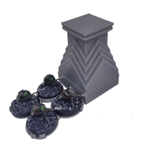 IMG_20200914_155508.png Download STL file 3D printable pillar and assorted bases for dwarf mine • 3D printer design, Alario