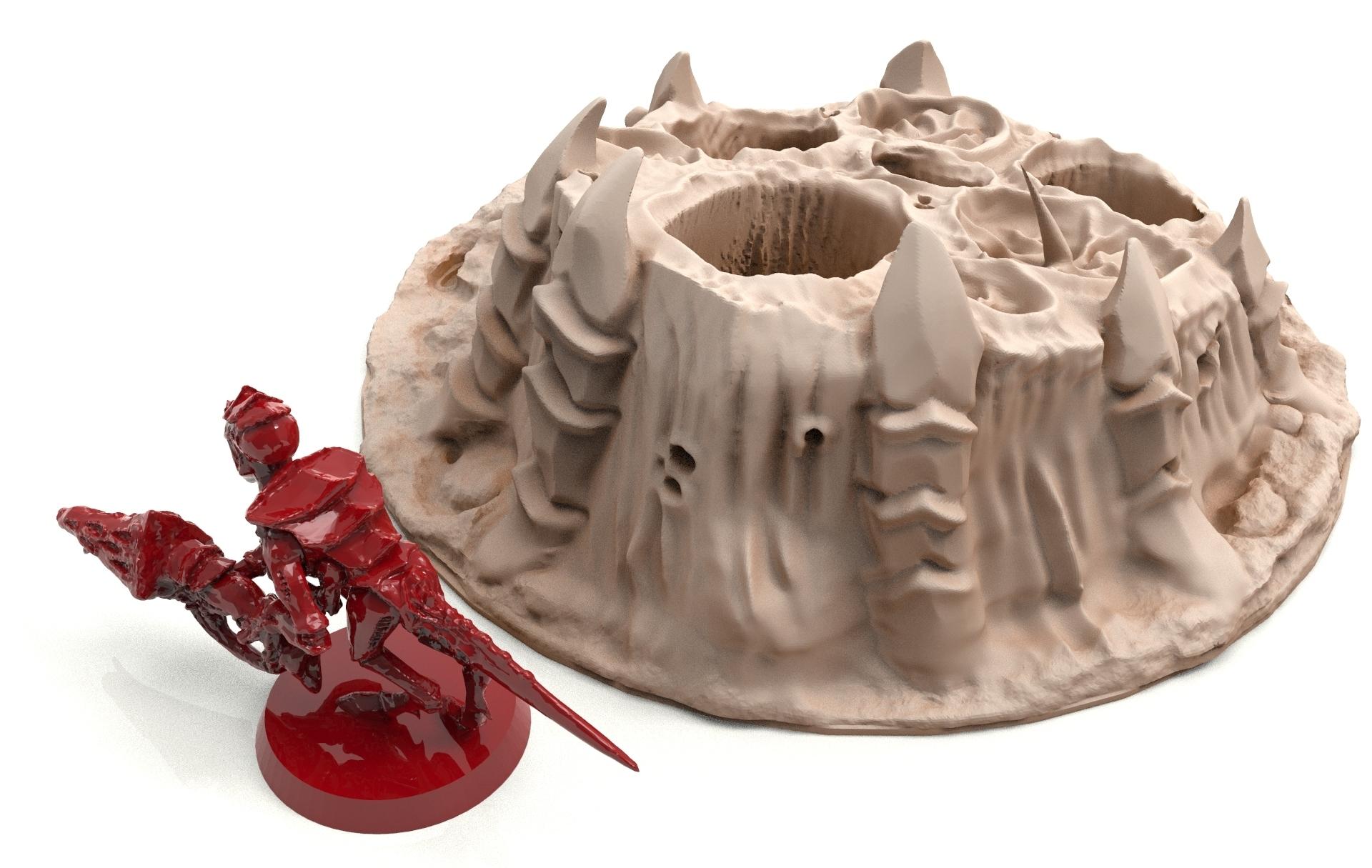 34A.jpg Télécharger fichier STL gratuit Tyty bug party terrain remix Part 3 Free 3D print model • Modèle à imprimer en 3D, Alario