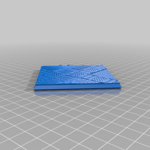 Square_75mm_base_INDR_01.png Download free STL file Sci-fi industrial bases all sizes all shapes • 3D printing template, Alario