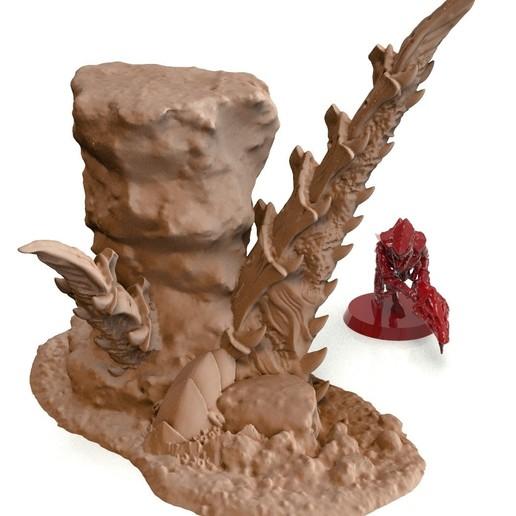 38A.jpg Télécharger fichier STL gratuit Tyty bug party terrain remix Part 3 Free 3D print model • Modèle à imprimer en 3D, Alario
