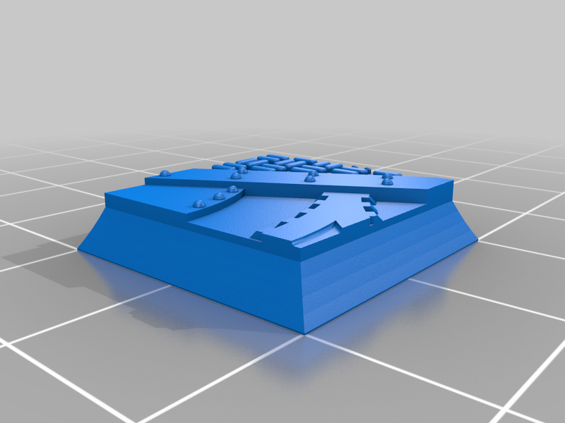 Square_20mm_base_INDR_01.png Download free STL file Sci-fi industrial bases all sizes all shapes • 3D printing template, Alario