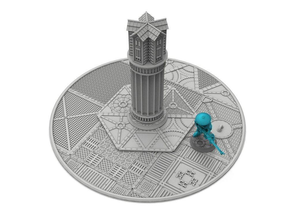"untitled.176.jpg Download free STL file New objective markers x6 & zone, 40mm + 3"", Damocles industrial biome free content • 3D printer object, Alario"