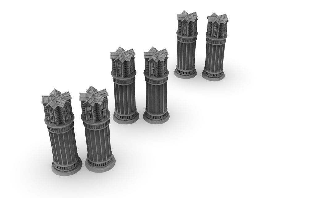 "untitled.852.jpg Download free STL file New objective markers x6 & zone, 40mm + 3"", Damocles industrial biome free content • 3D printer object, Alario"