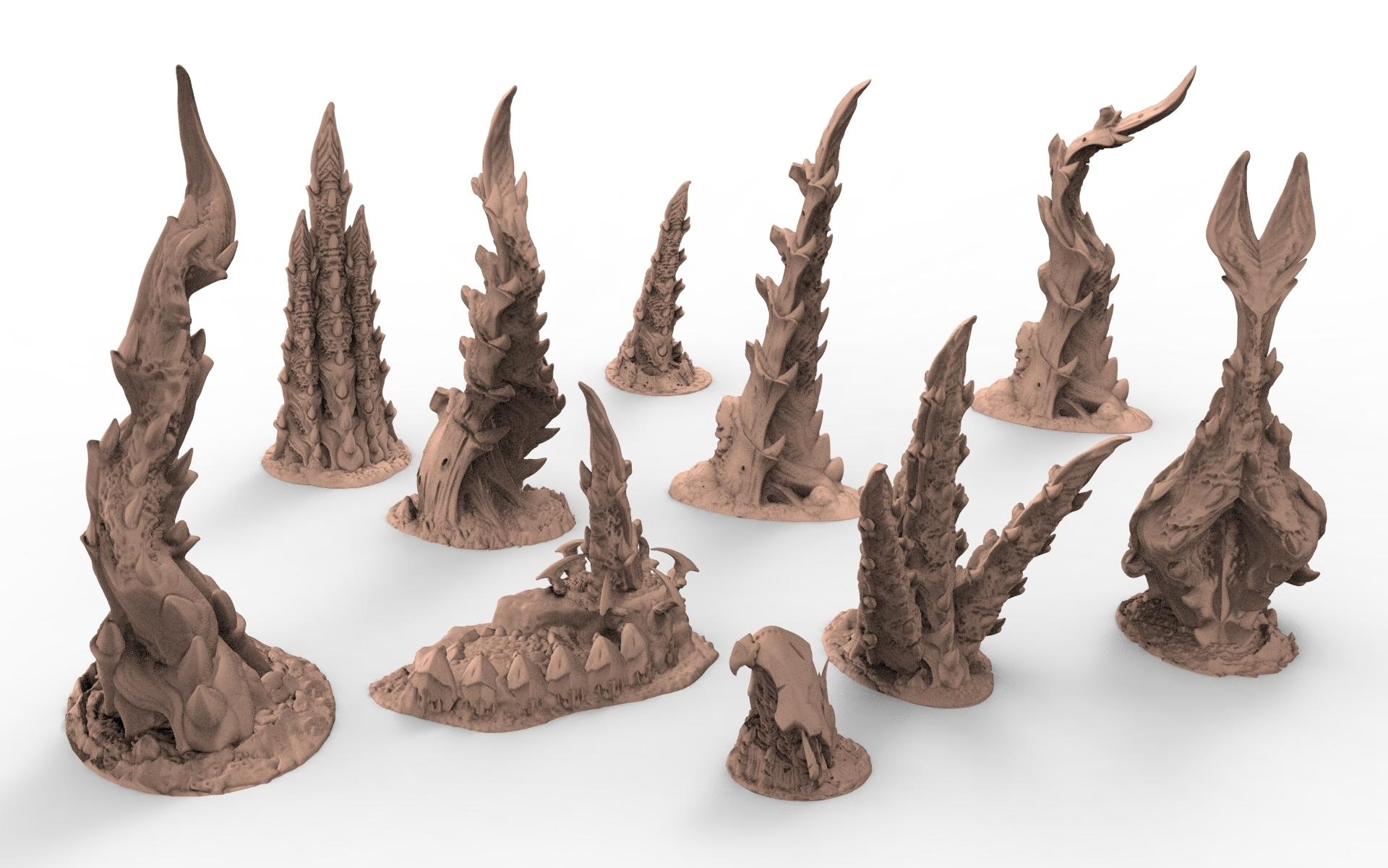 TYTY part1.164.jpg Télécharger fichier STL gratuit Tyty bug party terrain remix Part 1 Free 3D print model • Modèle pour imprimante 3D, Alario