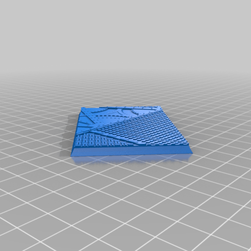 Rectangle_75x50mm_base_INDR_01.png Download free STL file Sci-fi industrial bases all sizes all shapes • 3D printing template, Alario