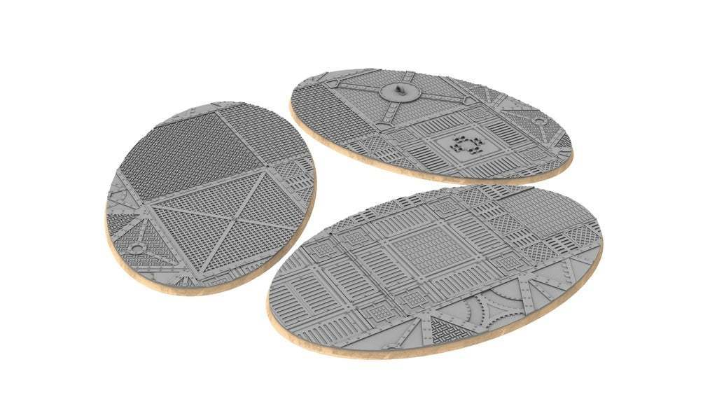 untitled.336.jpg Download free STL file Sci-fi industrial bases all sizes all shapes • 3D printing template, Alario