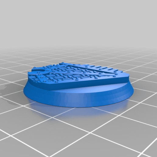 Round_32mm_base_INDR_01.png Download free STL file Sci-fi industrial bases all sizes all shapes • 3D printing template, Alario