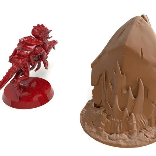 4B.jpg Télécharger fichier STL gratuit Tyty bug party terrain remix Part 1 Free 3D print model • Modèle pour imprimante 3D, Alario