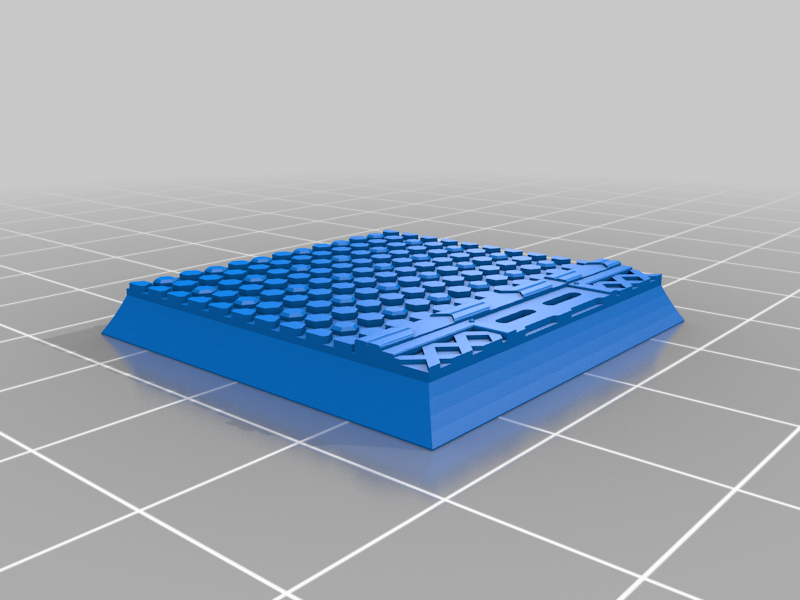 Square_32mm_base_INDR_01.png Download free STL file Sci-fi industrial bases all sizes all shapes • 3D printing template, Alario