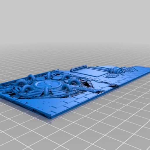 face_1st_floor_medium_v1.png Download free STL file Damocles kickstarter modular industrial buildings sample • 3D print design, Alario