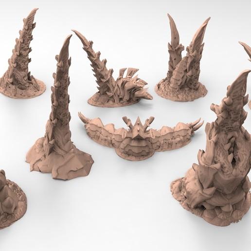 2.jpg Télécharger fichier STL gratuit Tyty bug party terrain remix Part 2 Free 3D print model • Modèle imprimable en 3D, Alario