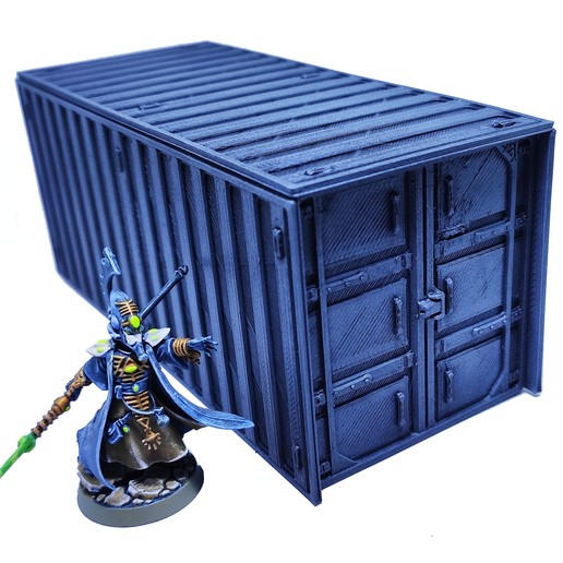 2.jpg Download free STL file Containers for wargame terrain 6.25x6.25x15cm • Template to 3D print, Alario