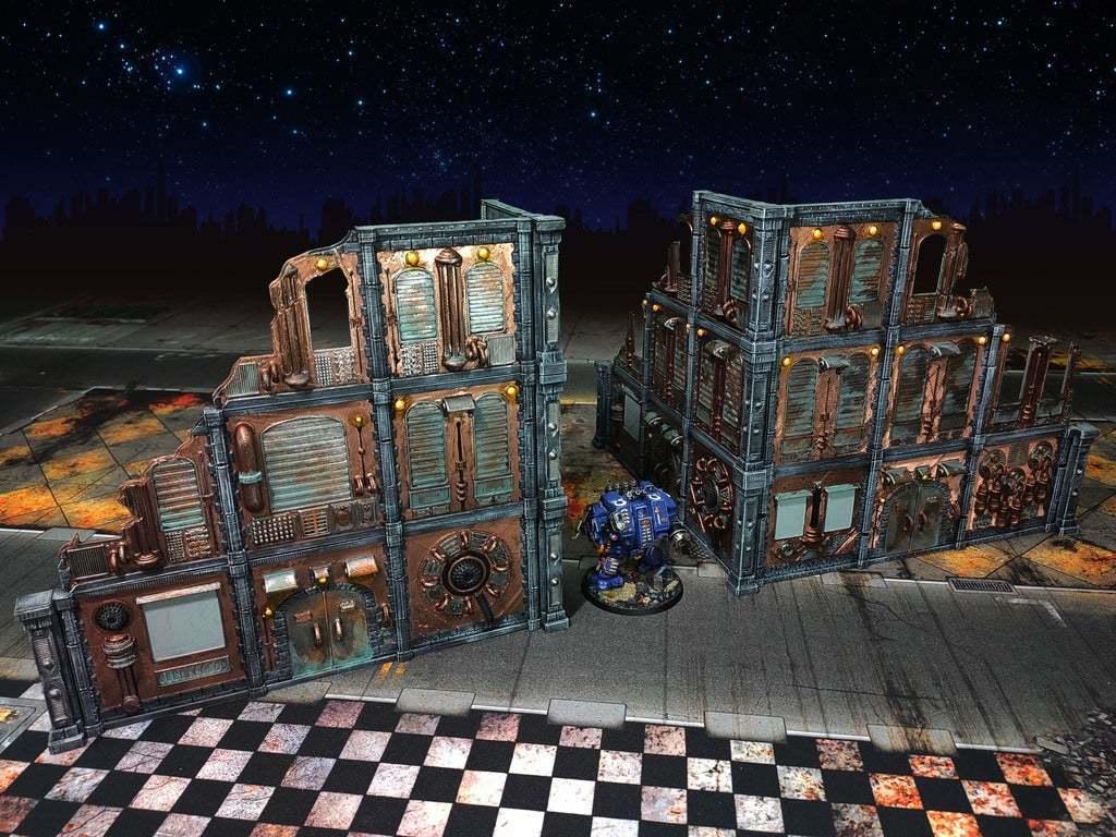x2_LOSSBLOCK_fig.jpg Download free STL file Damocles kickstarter modular industrial buildings sample • 3D print design, Alario