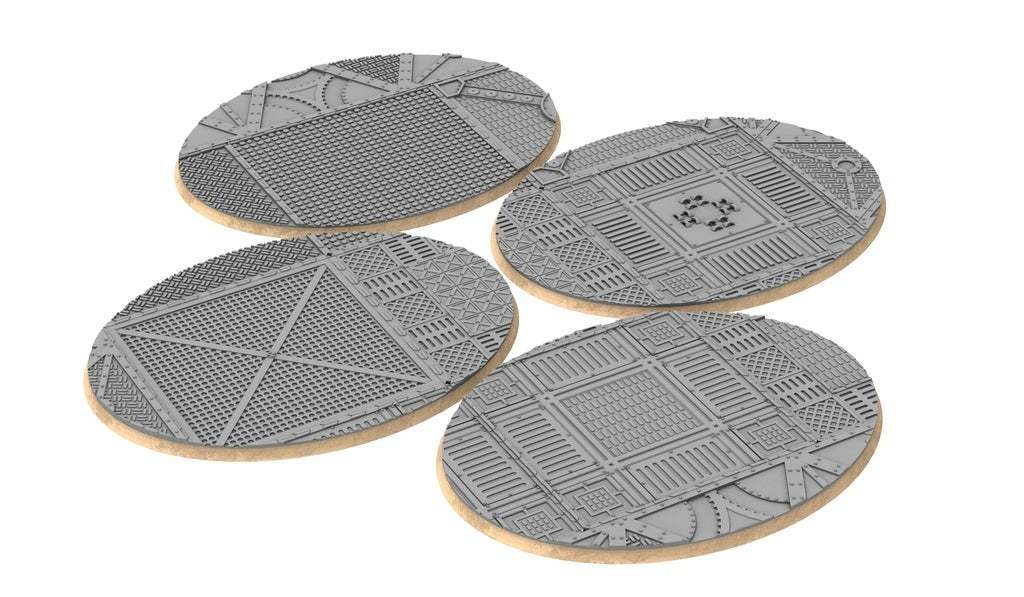 untitled.335.jpg Download free STL file Sci-fi industrial bases all sizes all shapes • 3D printing template, Alario
