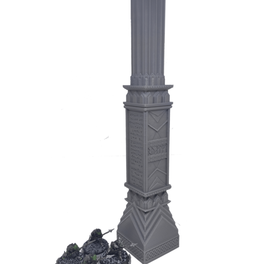 IMG_20200914_155333.png Download STL file 3D printable pillar and assorted bases for dwarf mine • 3D printer design, Alario
