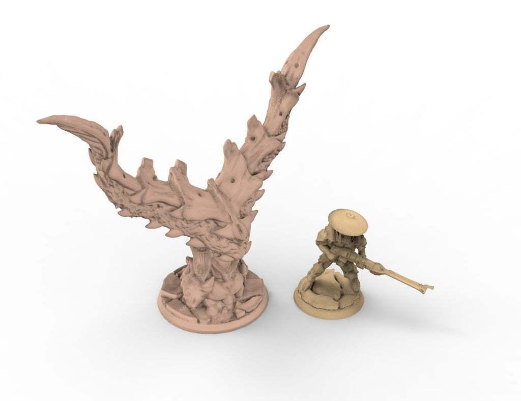 untitled.341.jpg Download free STL file tyty tyran tyranid 40k starship trooper objective marker x2 set remix • 3D printing design, Alario