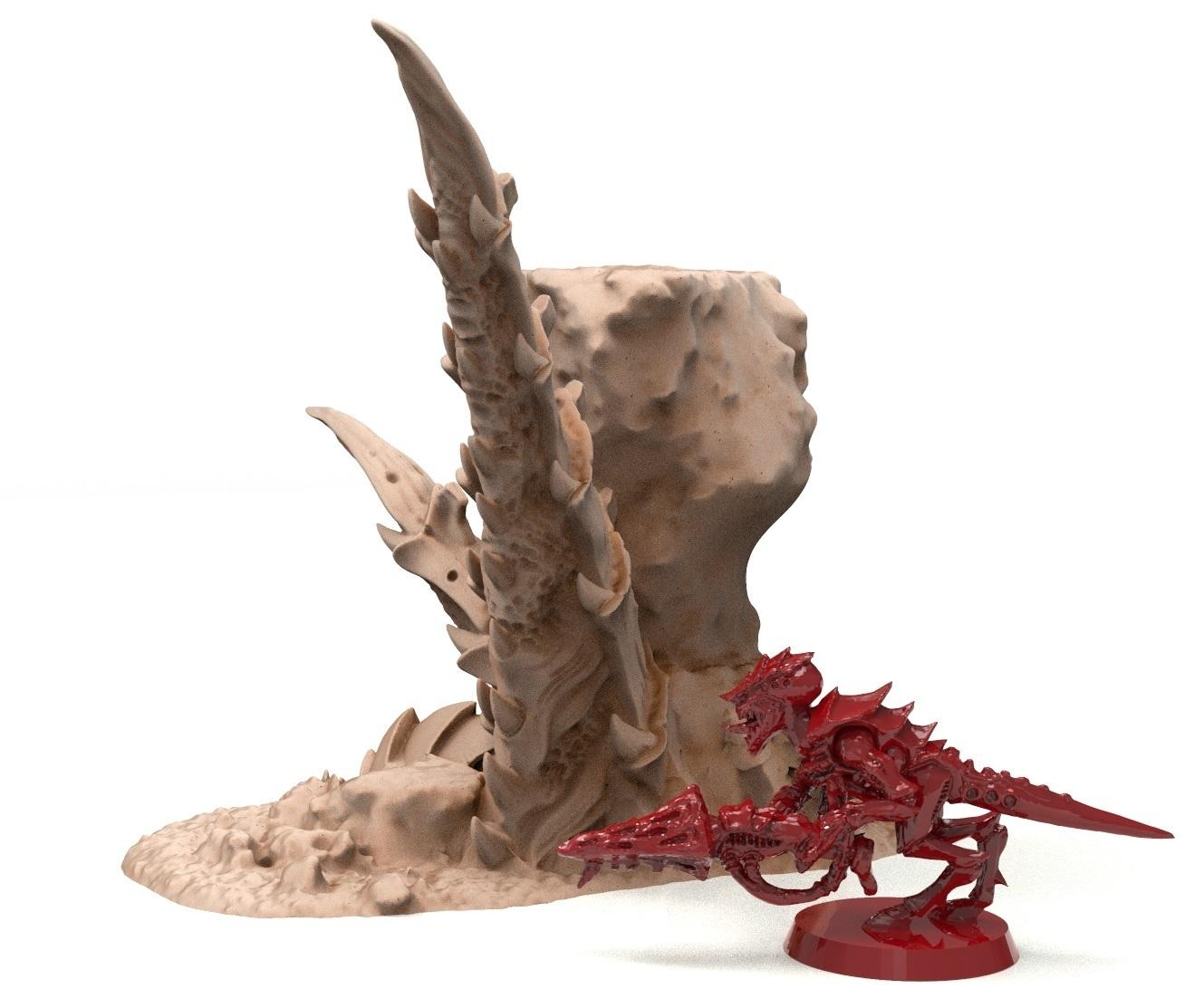 38B.jpg Télécharger fichier STL gratuit Tyty bug party terrain remix Part 3 Free 3D print model • Modèle à imprimer en 3D, Alario