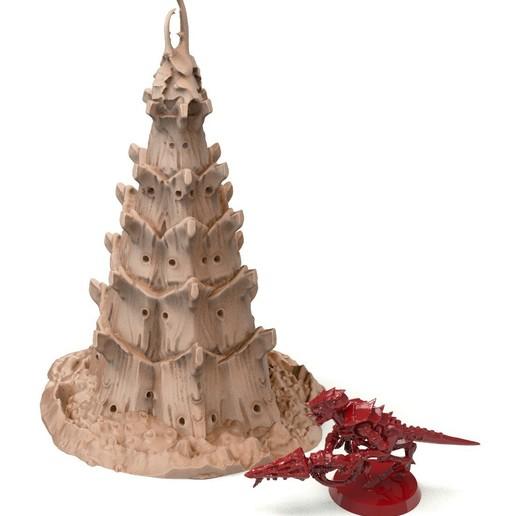 39A.jpg Télécharger fichier STL gratuit Tyty bug party terrain remix Part 3 Free 3D print model • Modèle à imprimer en 3D, Alario