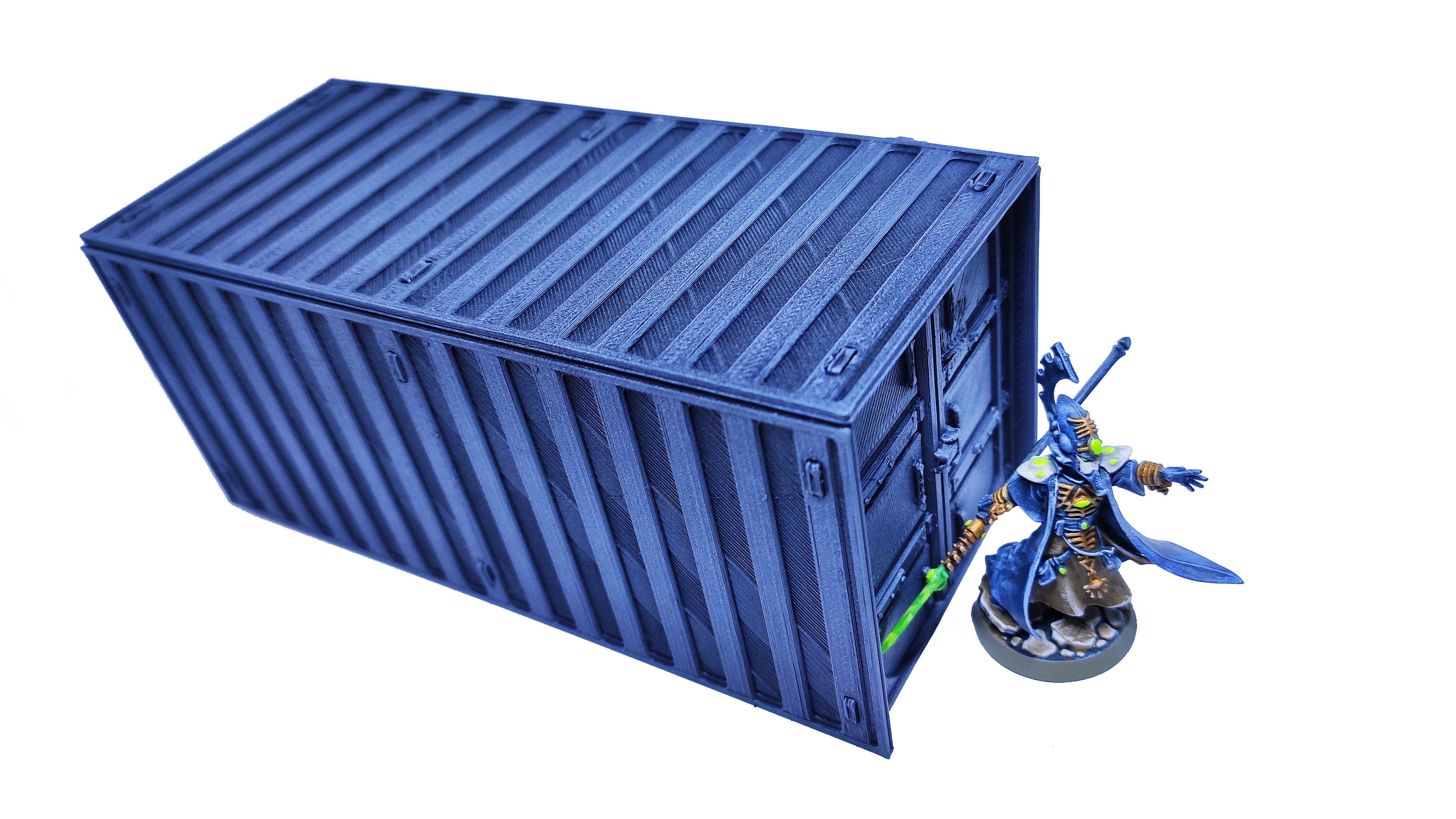 3.jpg Download free STL file Containers for wargame terrain 6.25x6.25x15cm • Template to 3D print, Alario