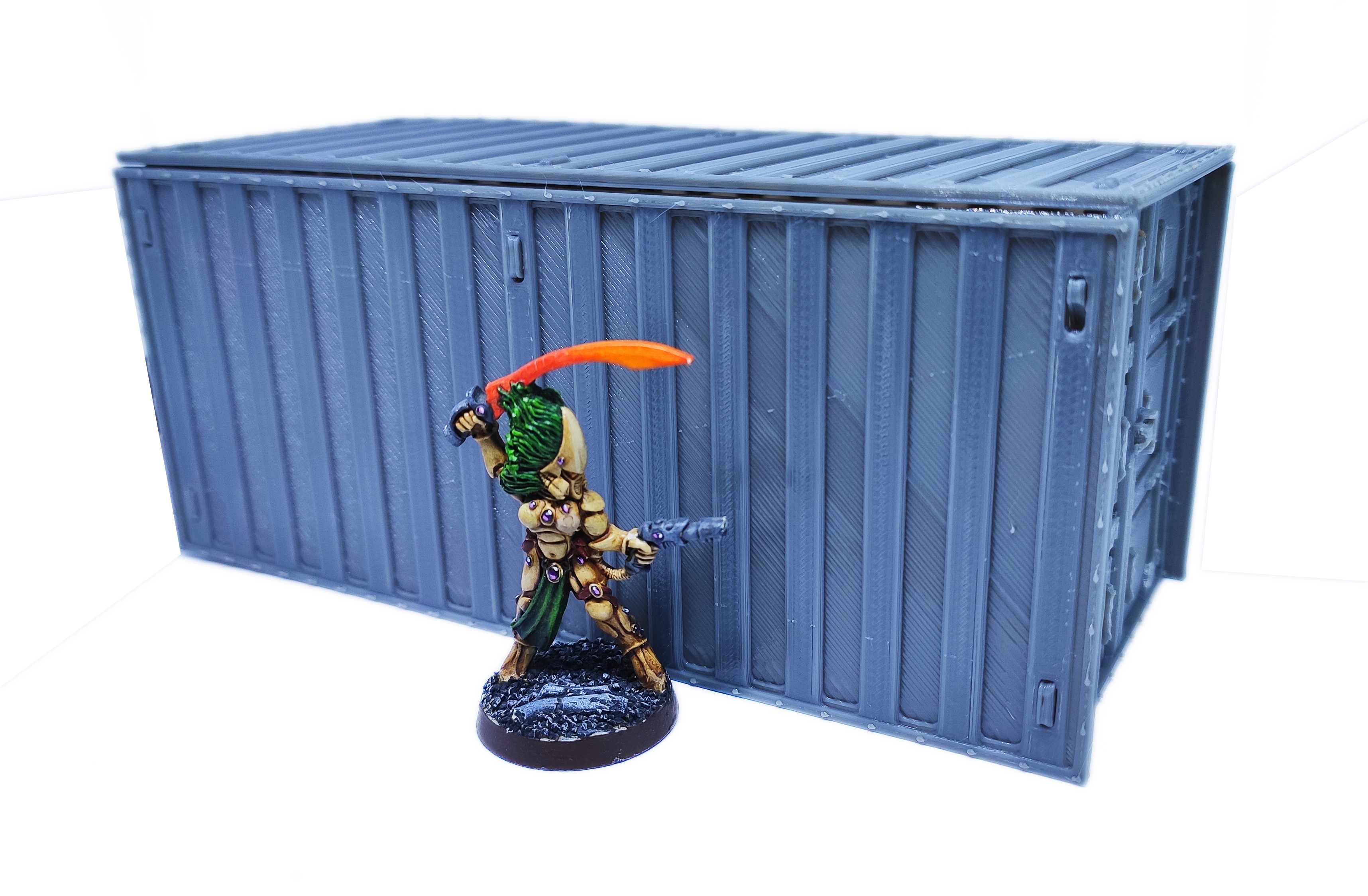 IMG_20200918_073534.jpg Download free STL file Containers for wargame terrain 6.25x6.25x15cm • Template to 3D print, Alario