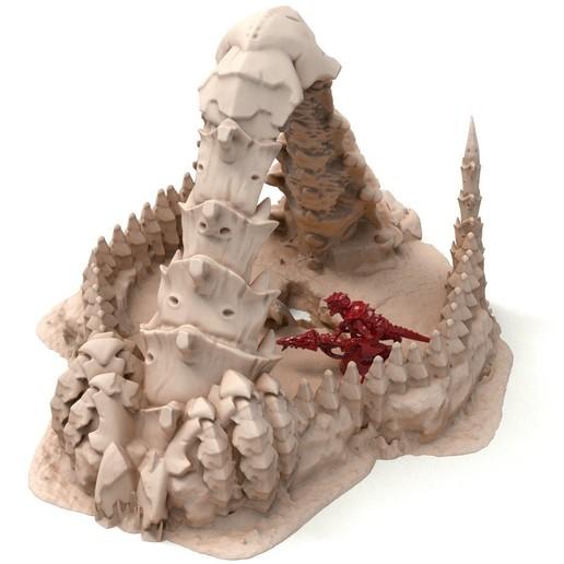 98A.jpg Télécharger fichier STL gratuit Tyty bug party terrain remix Part 9 Free 3D print model • Plan pour imprimante 3D, Alario