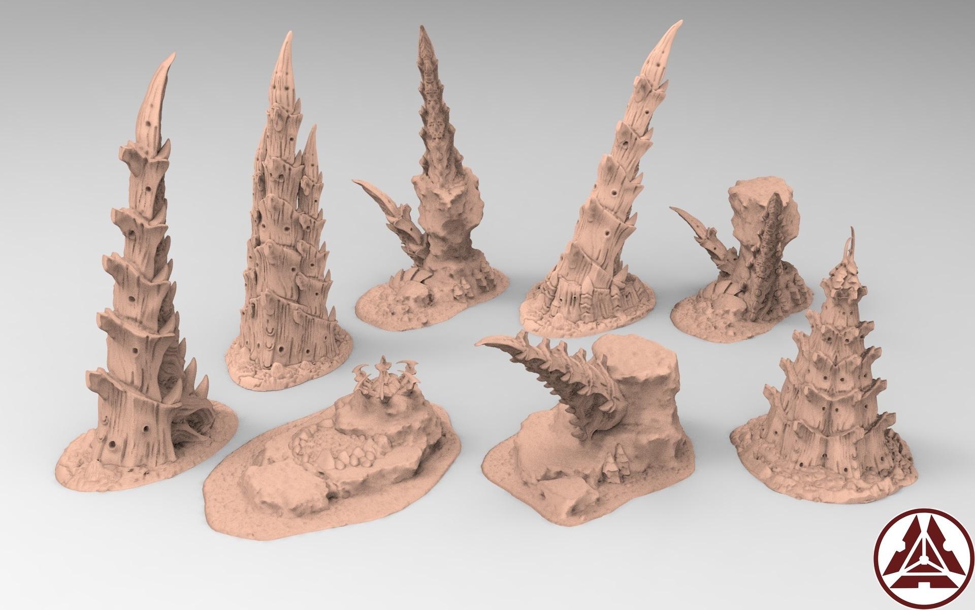 3.jpg Télécharger fichier STL gratuit Tyty bug party terrain remix Part 3 Free 3D print model • Modèle à imprimer en 3D, Alario