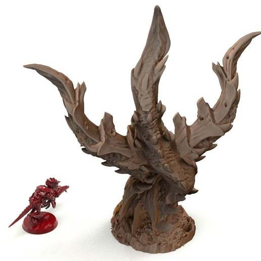 42A.jpg Download free STL file tyty tyran tyranid 40k starship trooper notable small terrain remix Part 4 • Template to 3D print, Alario