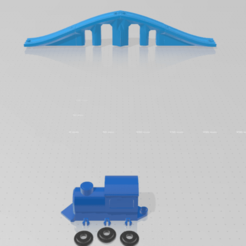 Descargar modelos 3D gratis Rampa tren, pmartinezblasco3