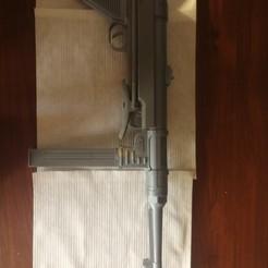 Download 3D printer templates Full-sized mechanical replica of the German MP-40 submachine gun, mrzool