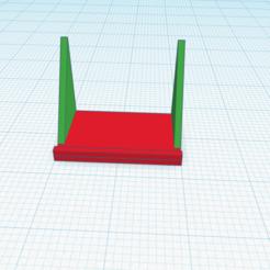 smartphone holder.png Télécharger fichier STL support pour téléphone portable • Objet imprimable en 3D, sveinungp90