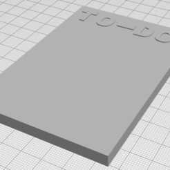 Télécharger modèle 3D gratuit TO-DO, maximebeck