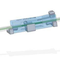 Descargar archivos STL gratis Válvula de retención de filamento / freno de retorno para aplicaciones MMU, 3DWatsch
