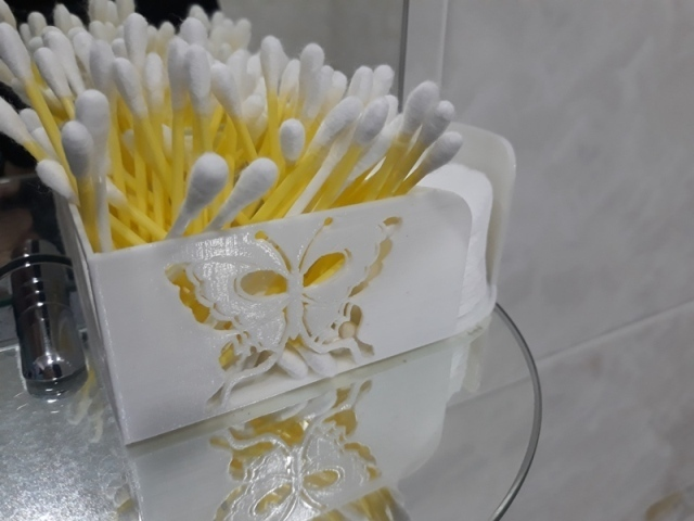 20201016_235059.jpg Download STL file  Organizer for sponges and cotton swabs. Just for you! • 3D printable object, aleksname2013