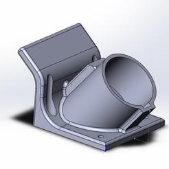 Безымянный.jpg Download STL file  Electric car charging holder • 3D printing model, aleksname2013