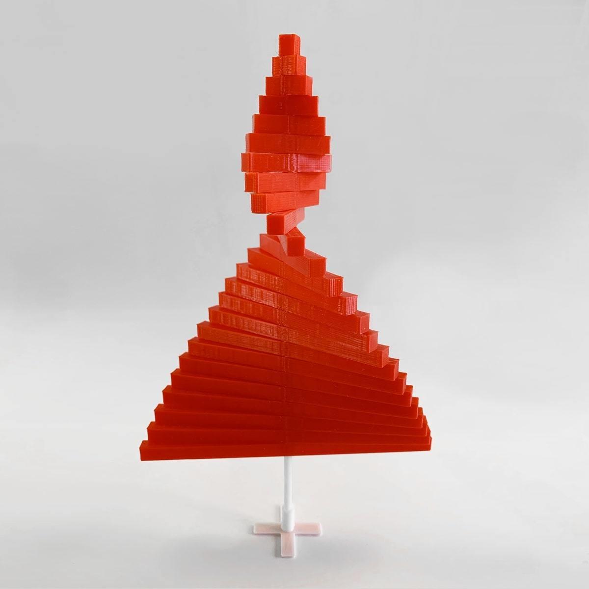 XmasTree_2.jpg Télécharger fichier STL gratuit Peeno - L'arbre de Noël minimal • Plan imprimable en 3D, addiscamillo