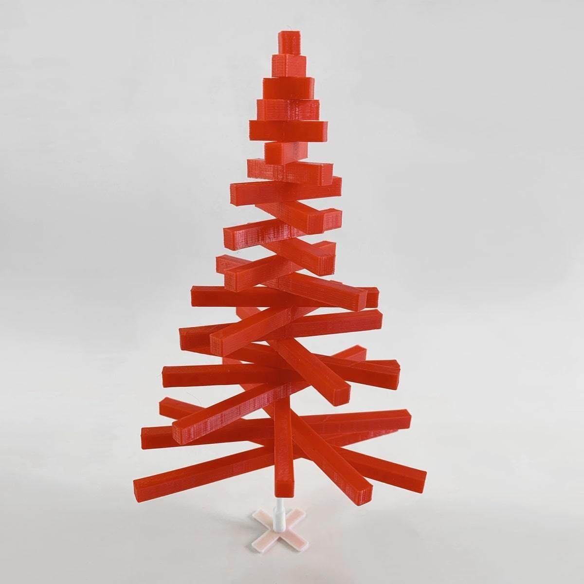 XmasTree_1.jpg Télécharger fichier STL gratuit Peeno - L'arbre de Noël minimal • Plan imprimable en 3D, addiscamillo