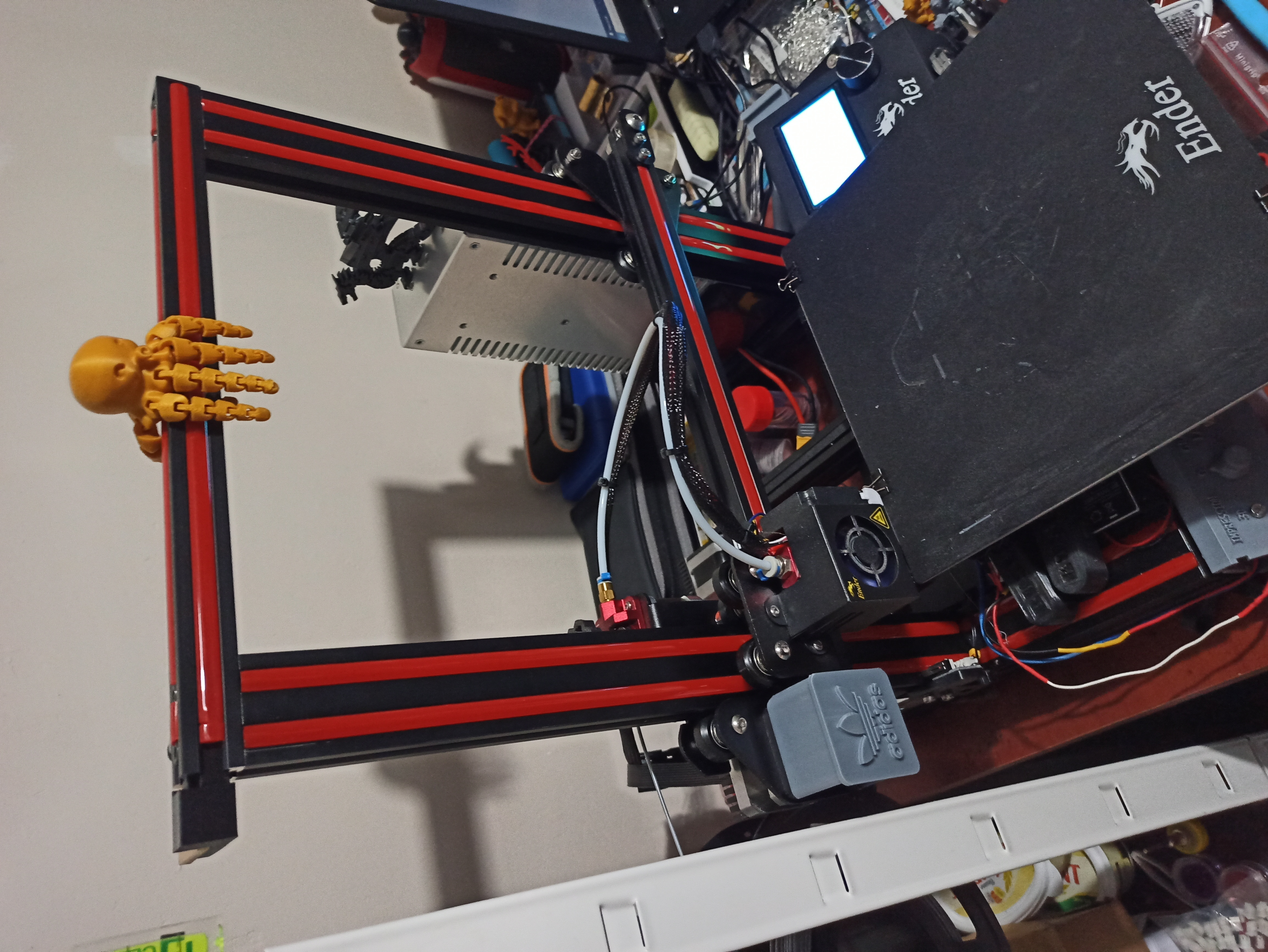 IMG_20200114_210731.jpg Download free STL file Ender 3 QR cover X-axis Adidas • 3D printable model, adriencorbel538