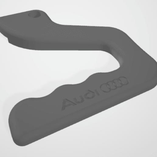 Télécharger fichier STL gratuit Poignée Audi pour lit chauffant sur Ender 3 - CR10 • Objet imprimable en 3D, adriencorbel538