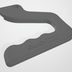 Download free 3D printer files Handle for heated bed on Ender 3 Audi, adriencorbel538