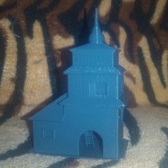 Download free STL defensive bell tower, beginning of 17th century, jmartn