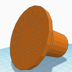 Download free 3D printer templates Watering can complement, rnieto2