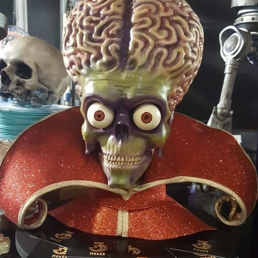 Download 3D printer model Mars Attacks, the3dmakes