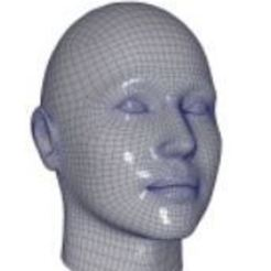 Download free 3D printer designs face, omid2