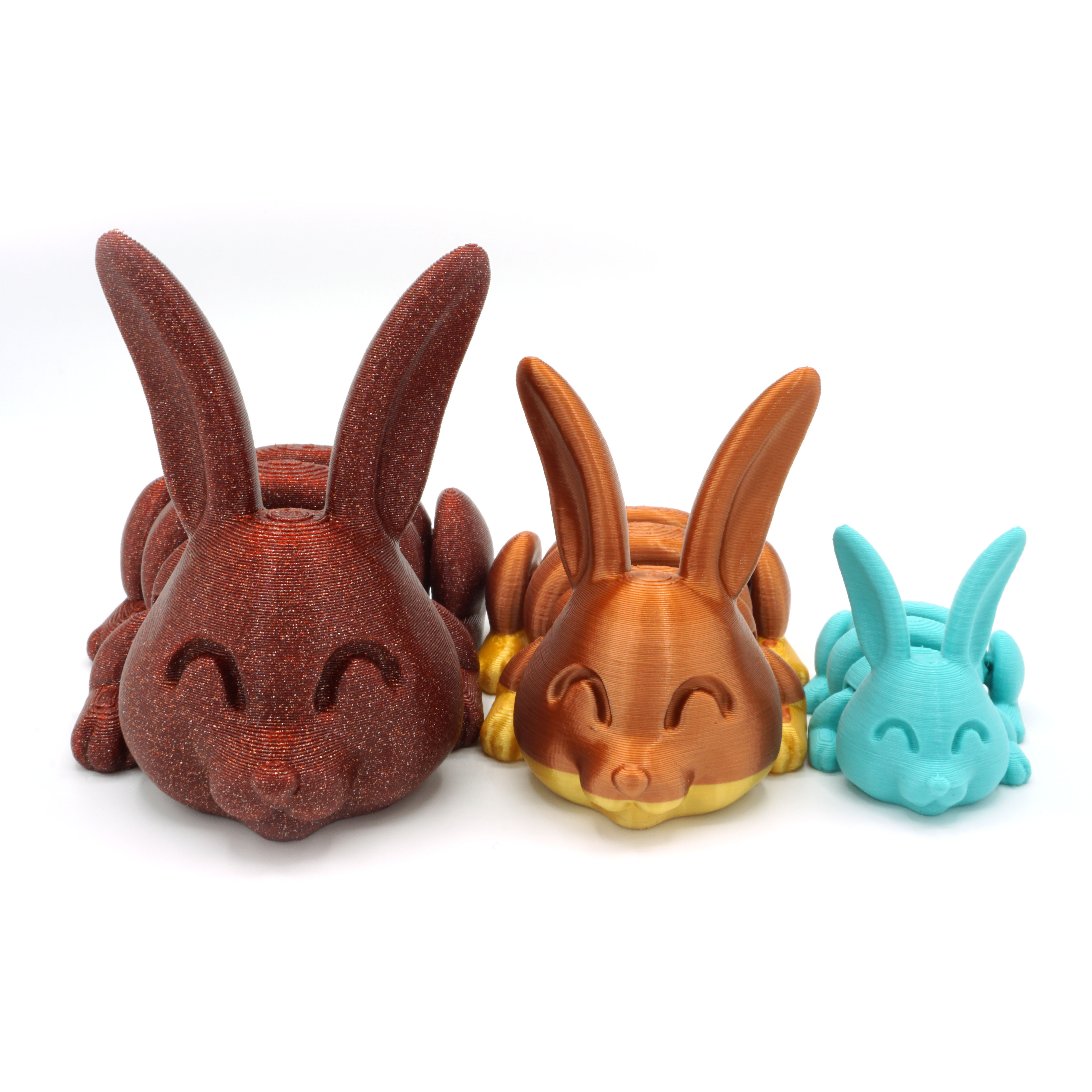 DSC01352 copia.jpg Download STL file Articulated Bunny • Template to 3D print, mcgybeer