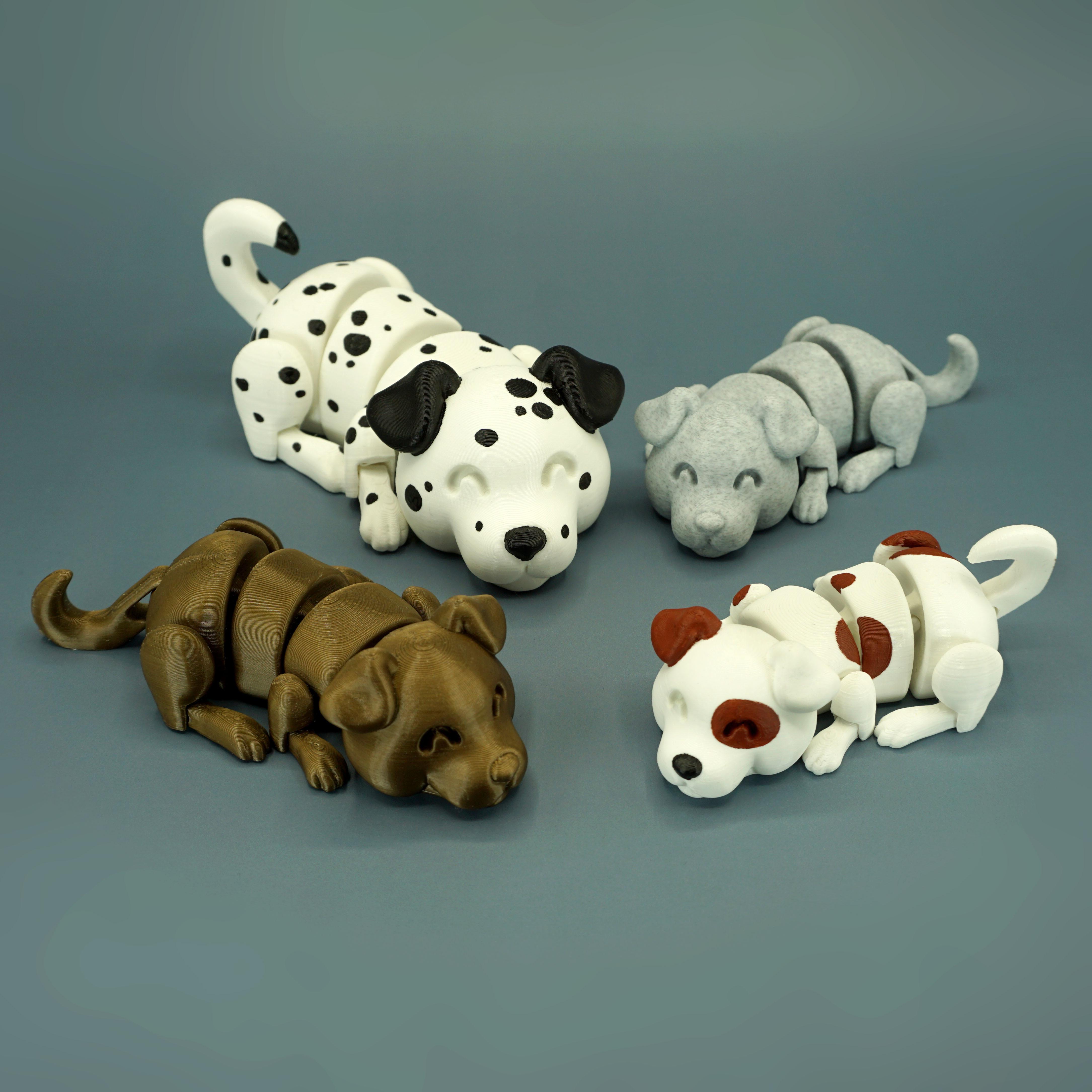 DSC01638 copia.jpg Download STL file Lazy Dogs • 3D print design, mcgybeer