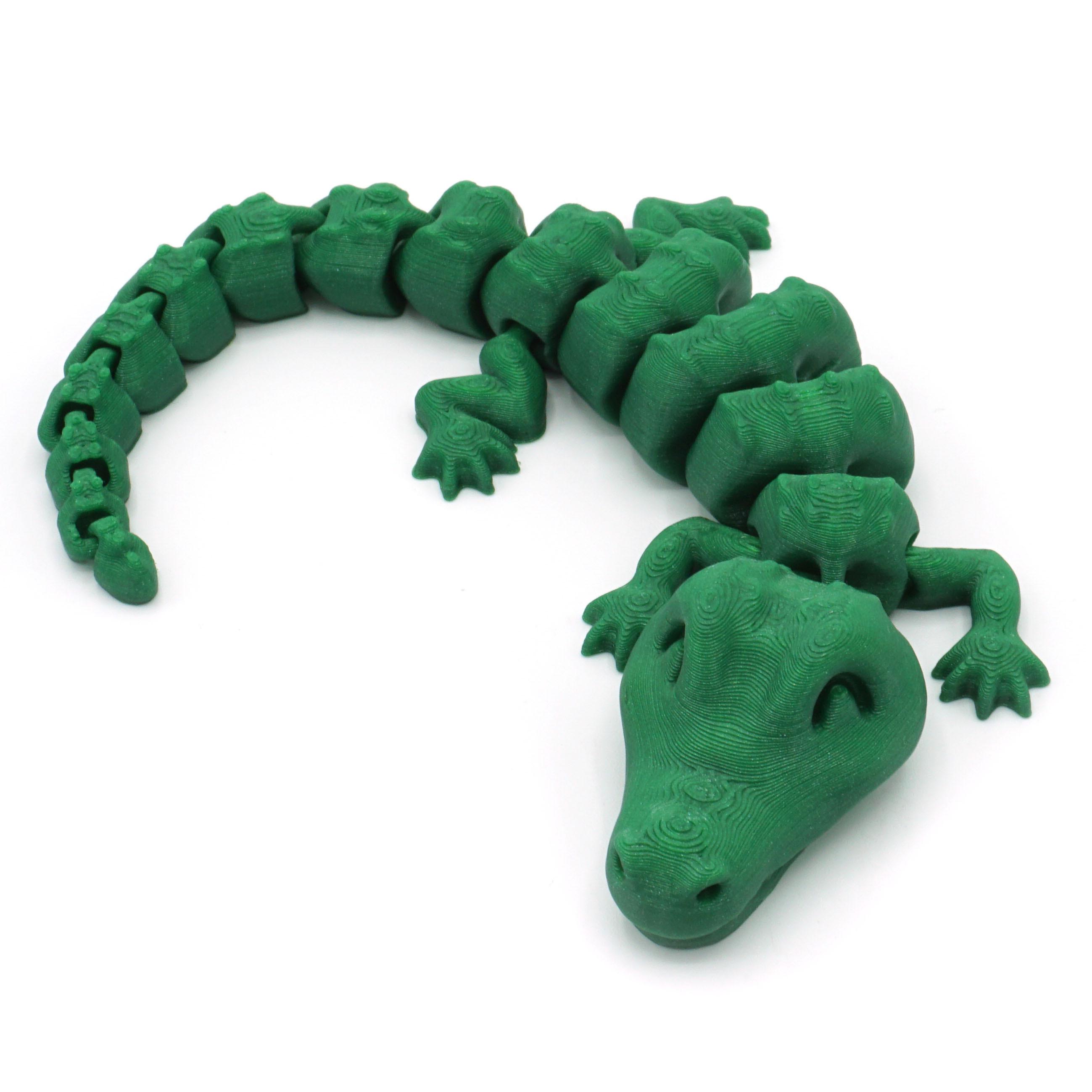 DSC01289 copia.jpg Download STL file Articulated Alligator • 3D printing object, mcgybeer