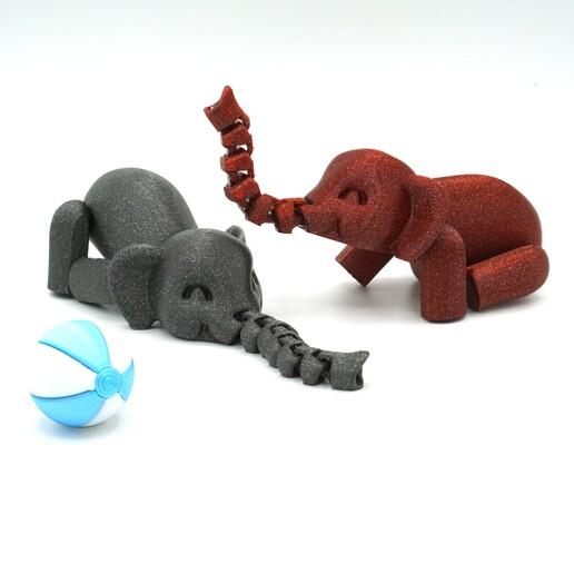 DSC01102 copia.jpg Download STL file Flexiphant • 3D printable model, mcgybeer