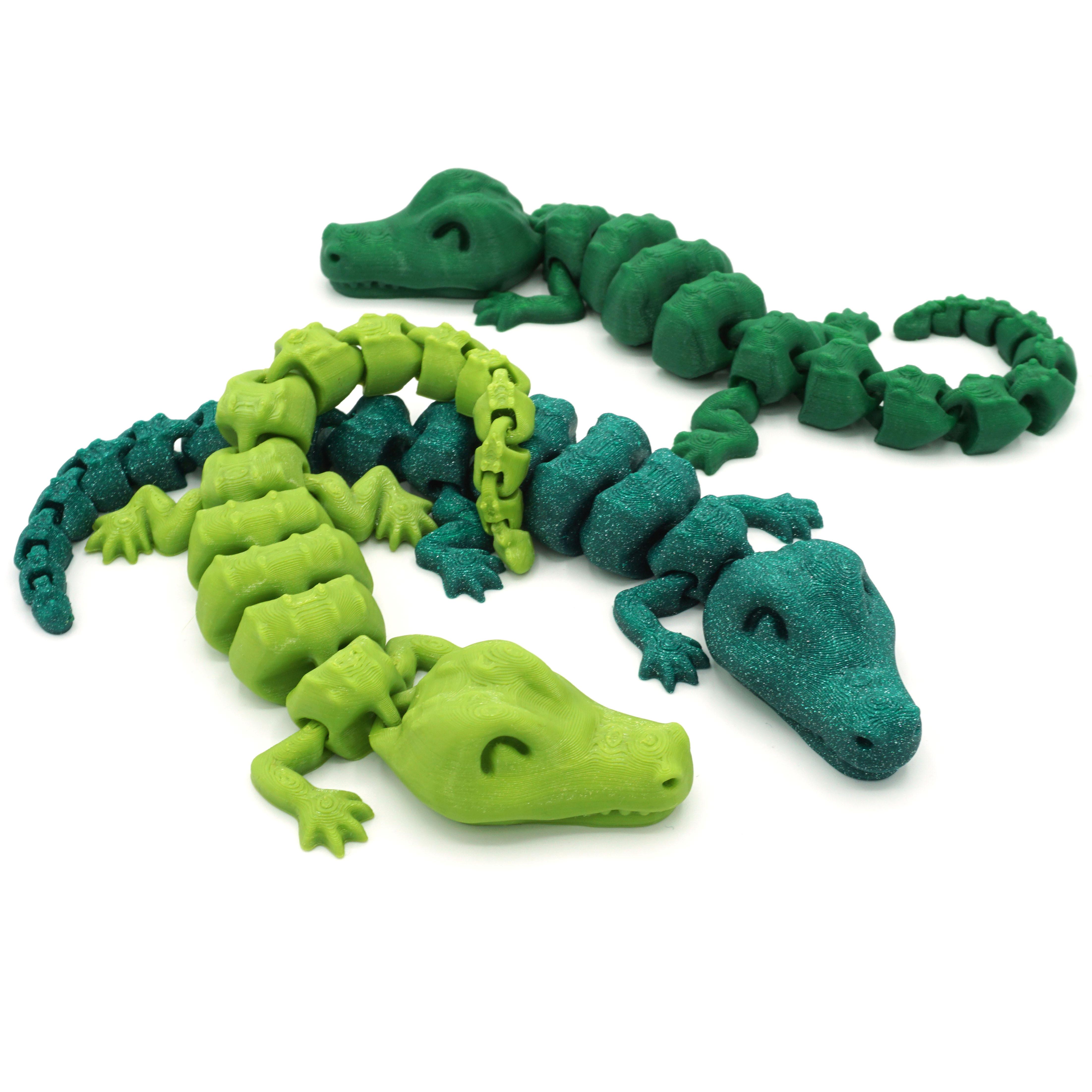 DSC01294 copia.jpg Download STL file Articulated Alligator • 3D printing object, mcgybeer